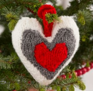 Heart Knitting Patterns Free