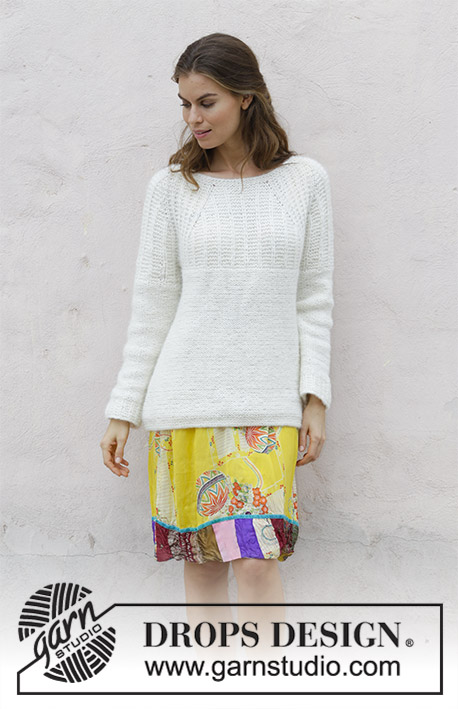 Sweet Pearl Free Sweater Knitting Pattern