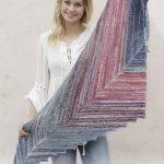 Point the Way Garter Stitch Shawl Free Knitting Pattern