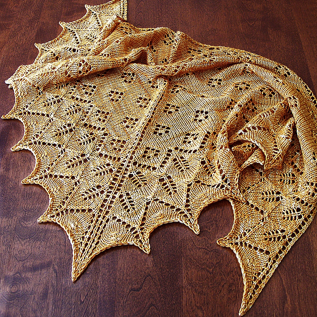 Ashton Shawlette Free Lace Knitting Pattern Download
