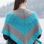 By the Sea Shawl Free Knitting Pattern