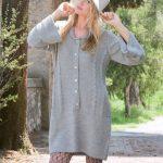 Cabled Tunic Dress Free Knitting Pattern
