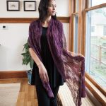 Candle Flame Shawl Free Knitting Pattern
