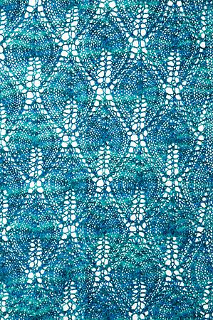 Candle Flame Shawl Free Knitting Pattern