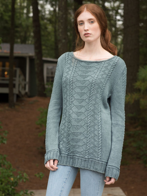 Carra Sweater Free Knitting Pattern