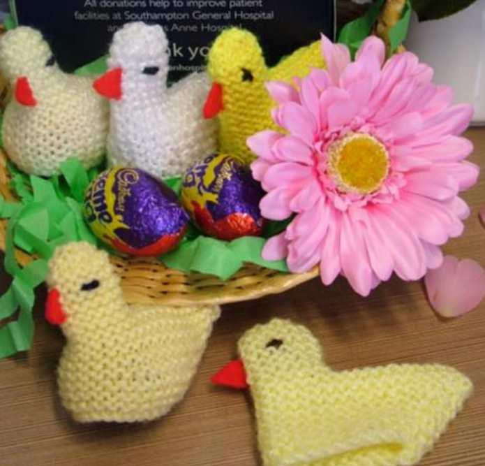 Easter Chicken Knitting