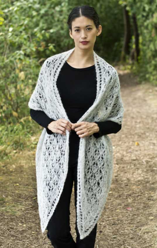 El Cielo Olivia Stole Free Knitting Pattern