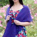 Fingering Rocketship Lace Shawl Free Knitting Pattern Download
