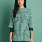 Free Eyelet Top Knitting Pattern