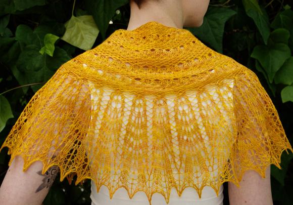Good Day Sunshine Lace Shawl Free Knitting Pattern Knitting Bee