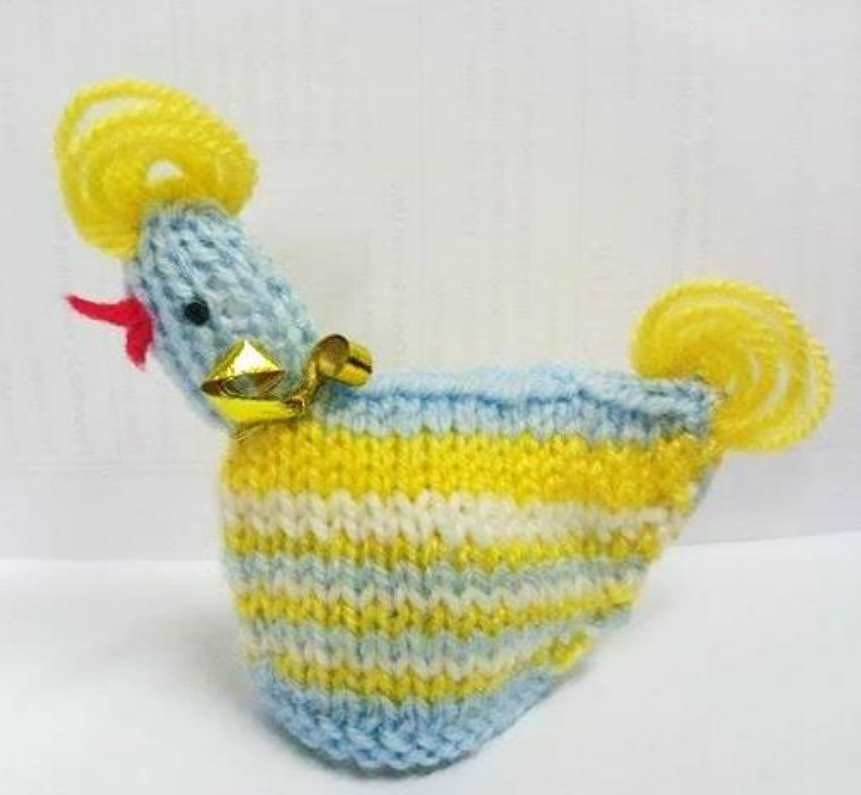 Knitted Hen Easter Pattern Free