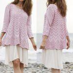 Lydia Lace Jacket Free Knitting Pattern