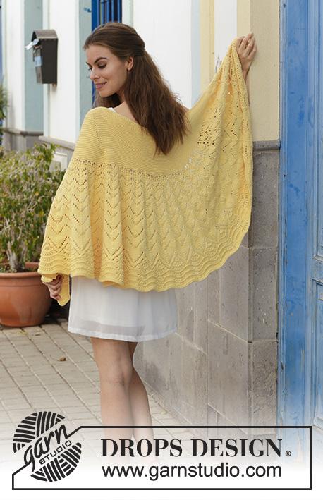 Majesty Lace Shawl Free Knitting Pattern