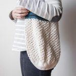 Market Bag Free Knitting Pattern