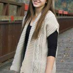 Paloma Waistcoat Free Knitting Pattern