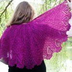 Peri's Paradox Lace Shawl Free Knitting Pattern