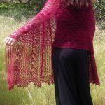 Rhodion Lace Shawl Free Knitting Pattern