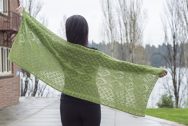 de29e5e3dc428 Free Shetland lace shawl free knitting pattern Patterns ⋆ Knitting ...