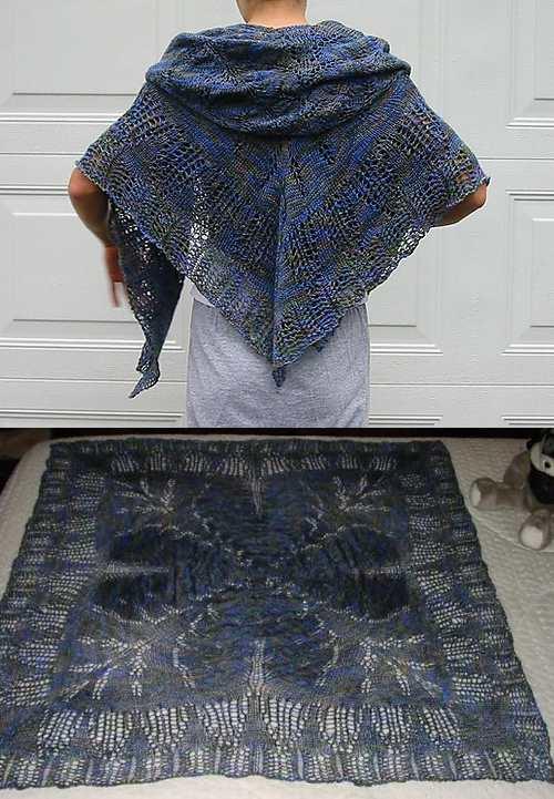 Song of Zion Lace Shawl Free Knitting Pattern