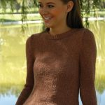 Top Shelf Stockinette Stitch Fitted Sweater Free Knitting Pattern