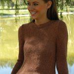 Top Shelf Stockinette Stitch Fitted Sweater Free Knitting Pattern