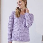 Top-down Shirt with Long Sleeves Free Knitting Pattern