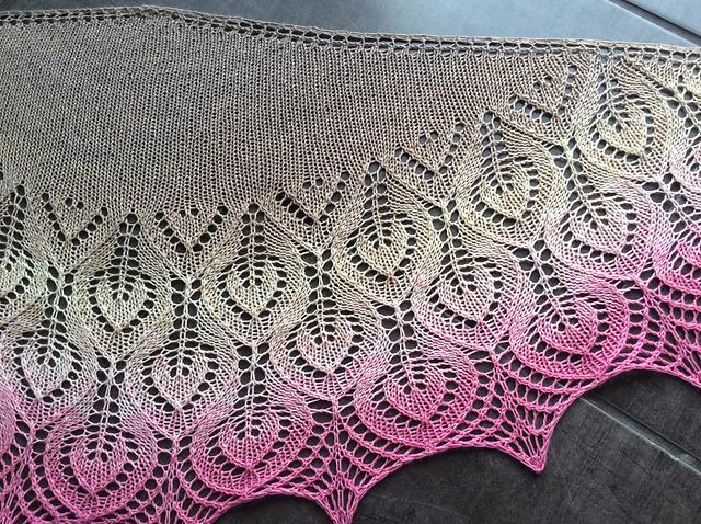 Vanesse Lace Shawl Free Knitting Pattern