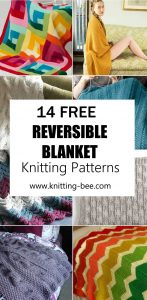 14 Free Reversible Blanket Knitting Patterns