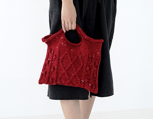 18bag Knit Handbag Free Pattern