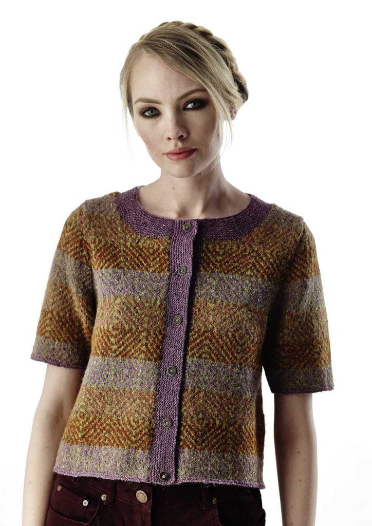 Arak Colorwork Cardigan Free Knitting Pattern