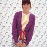 Asta Lace Cardigan Free Knitting Pattern