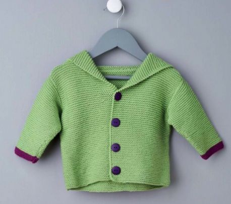 Free Free Garter Stitch Baby Cardigan Knitting Patterns