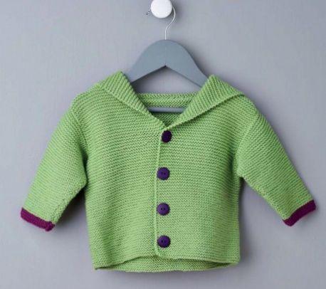 Baby Dinosaur Hoodie Free Knitting Pattern