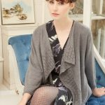 Ballari Women's Lace Cardigan Free Knitting Pattern