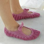 Be a Doll Free Knitted Slipper Pattern