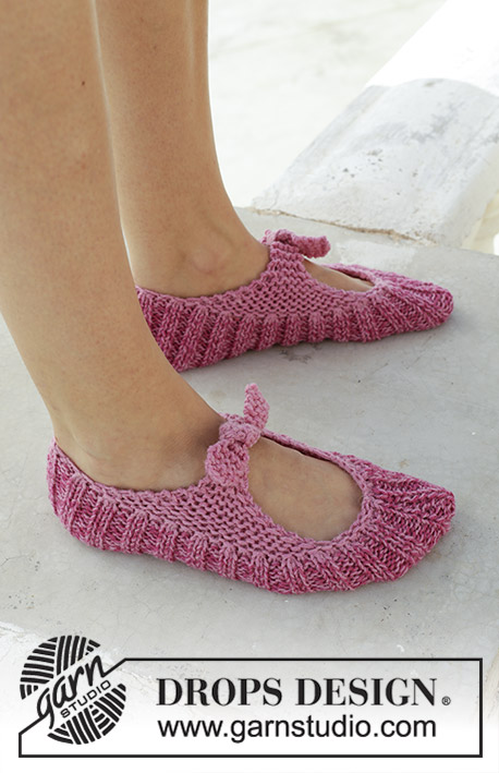 Be A Doll Free Knitted Slipper Pattern Knitting Bee