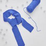 Beginner Knit Skinny Scarf Free Pattern Download