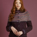 Canarsie Top Down Cardigan Free Knitting Pattern