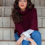 Cordatta Sweater Easy Women's Free Knitting Pattern