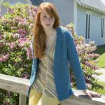 Dianna Cabled and Ribbed Cardigan Free Ladies Knitting Pattern