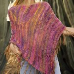 Easy Summer Poncho Free Knitting Pattern