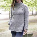 Ebba High Collar Raglan Sweater