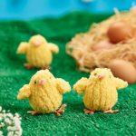 Fluffy Chicks Free Easter Knitting Pattern