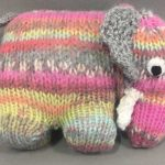 Fre Knitting Pattern for an Elephant
