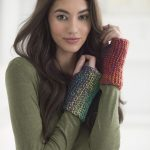 Free Knitting Pattern for Basic Wristers.