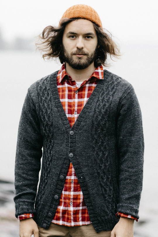 Free Knitting Pattern For A Mens Cabled Cardigan Knitting Bee