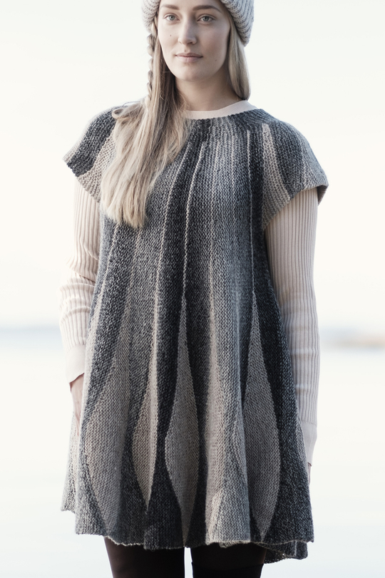Free Knitting Pattern for a Women's Knitted Dress