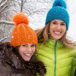 Hat in Garter Stitch and Chunky Yarn Free Knitting Pattern
