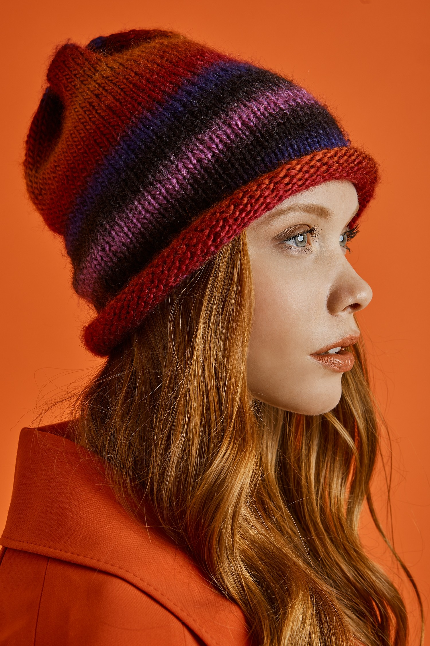 Hip Slouch Hat Free Knitting Pattern ⋆ Knitting Bee