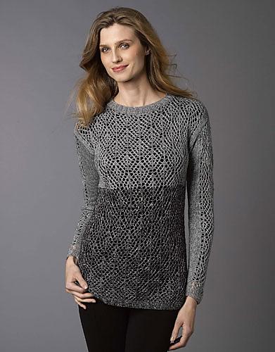e90652bb615bdb Katia Lace Sweater Free Knitting Pattern ⋆ Knitting Bee
